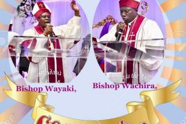 Video:CONSECRATION & ORDINATION OF BISHOPS & PASTORS :BISHOP REV WACHIRA,BISHOP DR REV JOSEPH WAIYAKI HIGHLIGHTS