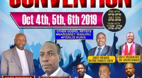 PCEA IMANI CHURCH CONVENTION:OCT 4th 5th & 6TH 2019