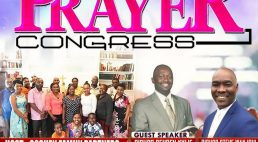 Goshen Faith Embassy Annual Prayer Congress 14th to 17th November 2018 All are Invited!