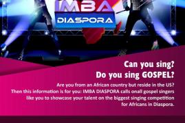 African Diaspora Gospel Singers Sought for Singing Competition