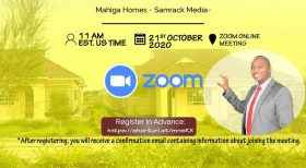 Diaspora Remittances & The Kenyan Economy a Virtual Mahiga Homes – Samrack Media Event