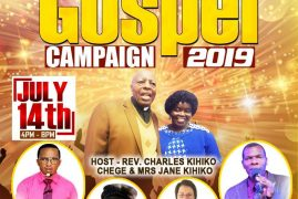 Calvary Evangelical Church Invite you for the Lowell Gospel Campaign July 14 2019 @ 4PM  @ Shedd Park Lowell,MA