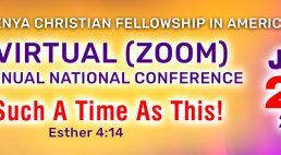KCFA 2020 Virtual (ZOOM) Annual National Conference Sign-up