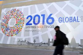 Dark economic cloud over IMF-World Bank meeting