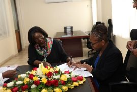 Performance contract signed between Kenya Space Agency (KSA) and Kenya Defence Forces