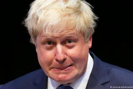 British Prime Minister Boris Johnson could be forced out of office this week
