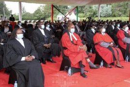 Dr Imaana Laibuta sworn in as Kenya's first blind judge
