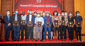 Kenyan students awarded first prize in global Huawei ICT competition