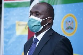 Health DG Patrick Amoth becomes first Kenyan to receive Covid-19 vaccine