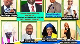 2021 Easter Celebration Convention by Kenya-America Pastor's Fellowship (KAPF) Time: Sunday 4/11/21 at 3:00PM EST