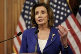 "House Speaker Nancy Pelosi said Tuesday that America needs to move toward a ""vote by mail"""