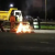 Police Light Bonfires Along Thika Road During Curfew [VIDEO]