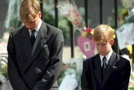 William, Harry lead tributes to mother Diana, 20 years on