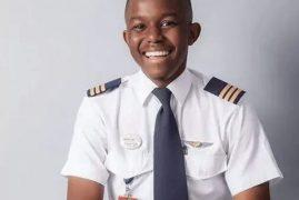 Kalenga Kamwendo is Africa's youngest pilot