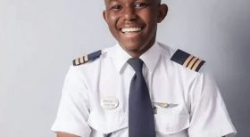 Kalenga Kamwendo is Africa's youngest pilot
