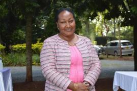 Mbiyu Koinange's daughter Lenah to run for the Kiambaa MP seat