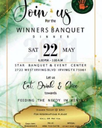 Diaspora Organizes Banquet Dinner To Feed The Needy In Kenya
