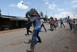 Protests in Kenya as opposition marks 'Day of Rage'