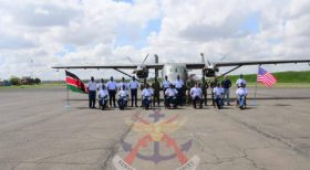 Kenya Air Force Commissions C-145 Skytruck Aircraft Acquired From US