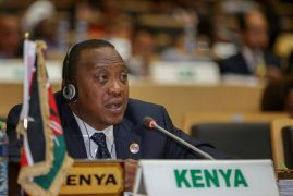 WE HAVE TAKEN A STRONG POSITION TO ESTABLISH THE AFRICAN COURT, KENYATTA
