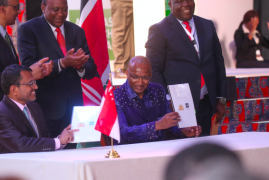 Kenya and Singapore agree to partner in developing digital infrastructure