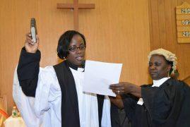Kenyan Bishop ordains Rev.Agnes Kuria of St.Luke International Church,Malden Massachusetts