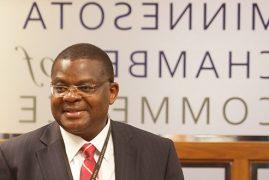 Kenyan Ambassador Robinson Njeru Githae, urges Minnesota companies to invest in Kenya