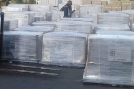 Ballot papers for repeat presidential poll arrive in Kenya
