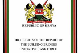President Kenyatta receives BBI report See attached Full BBI(PDF)