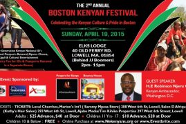 No Entry Fees for Kenyan National ID Registrations at the Boston Kenyan Festival – Embassy officials