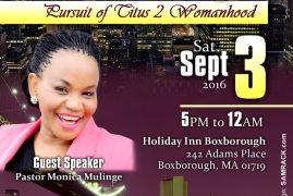 Boston Queens Night Saturday Sept 3rd 2016 5PM @ Holiday Inn Boxborough,MA