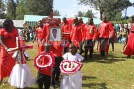 [VIDEO] Man Who Died On His Wedding Day Buried in a Sorrowful 'Wedding' Ceremony