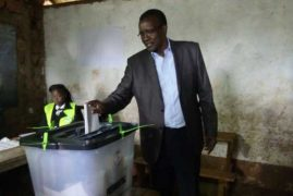 CJ David Maraga votes in repeat election