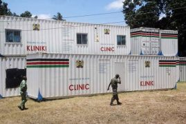 Imported clinics from China lying at NYS yard