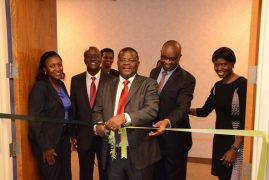 Photo:Amb.Robinson Githae Kenya Embassy Washington DC  officiating Cytonn Diaspora  office opening in D.C. today