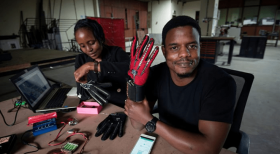 Youth Honored For Developing Unique Gloves