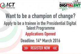 ICT authority calling for 400 graduates in talent programme