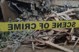 Four-storey building collapses in Zimmerman Estate