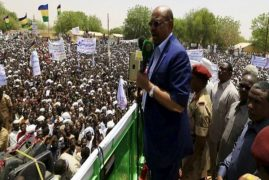 Sudan's Bashir Says He Will Step Down in 2020