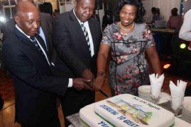 Farewell dinner for Prof Olive Mugenda