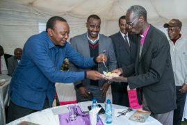 President Uhuru Kenyatta:Emulate outgoing Anglican Archbishop Wabukala when given opportunity to serve.