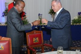 Israel is Kenya's big brother, Uhuru tells Netanyahu over dinner