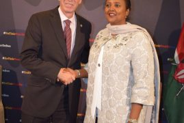 Kenya donates largest contribution from Africa to combat HIV, TB and Malaria