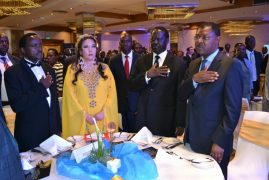Photos:The African Dignitary Man of the Year 2016 H.E Stephen Kalonzo Musyoka