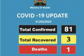 BREAKING: Kenya confirms 22 new cases of #Coronavirus raising total to 81