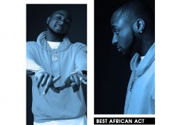 Davido Beats Wizkid, Tiwa Savage Tekno, Others to Win Best African Act at MOBO Awards 2017