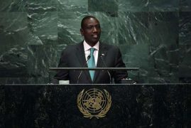 Kenya urges UN to improve security in Horn of Africa