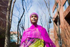 A onetime Kenyan Somali refugee aims high