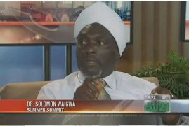 """Dr. Solomon Waigwa to lead """"Running with the Giants"""", a Youth Empowerment Summit at Wiley College, Marshall TX."""