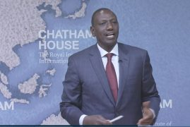 Kenya's Ruto at Chatham House: verifying the deputy president's London speech